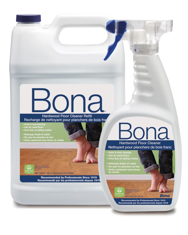 bona hardwood floor cleaner refill with free cleaner