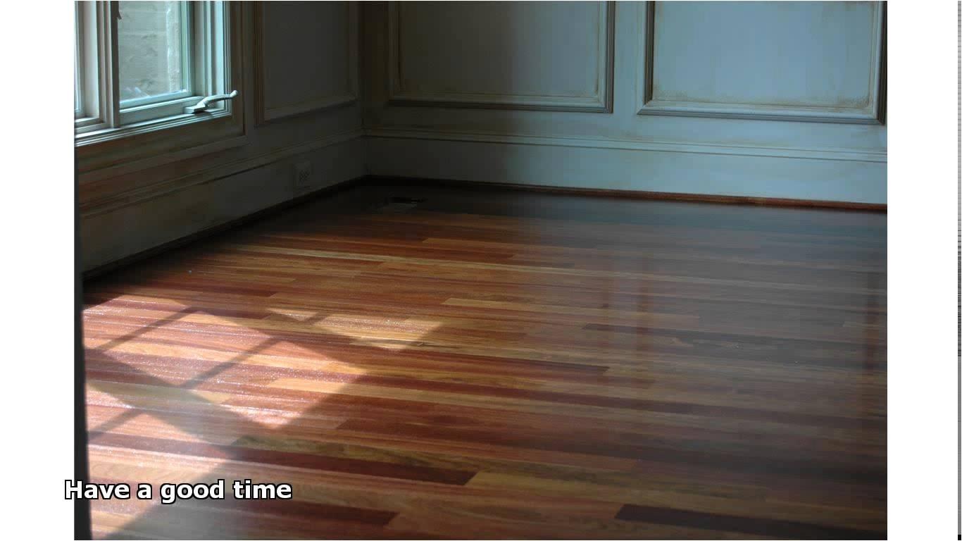 Bona Floor Products Bunnings Satin Finish Hardwood Flooring Youtube