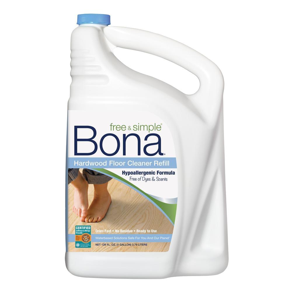 bona 128 oz free and simple hardwood refill wm700018182 the home