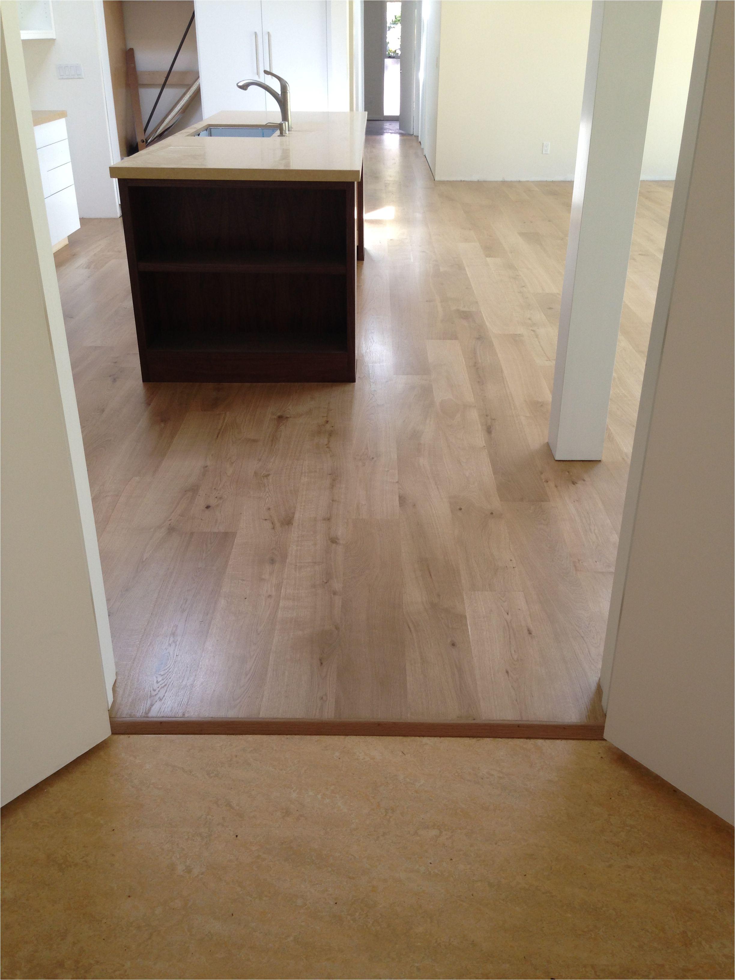 Bona Floor Products Marmoleum Cork Budding French White Oak Sanded and Finished with 3