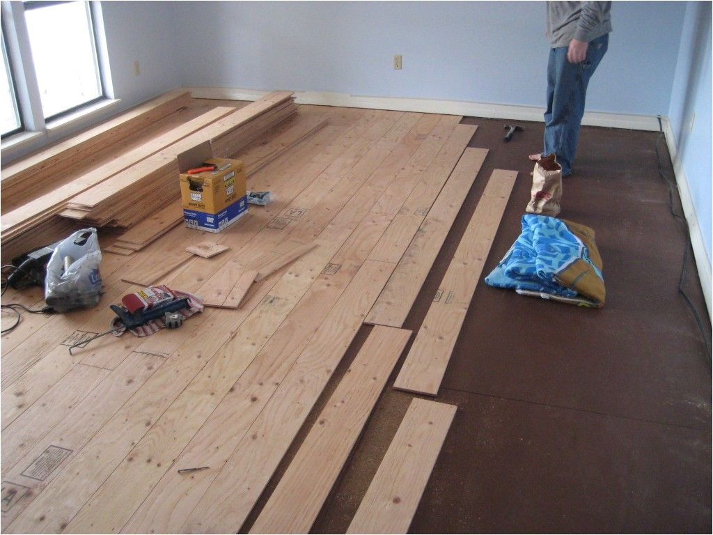 real wood floors for less than half the cost of buying the floating floors little more work but think of the savings less than 500