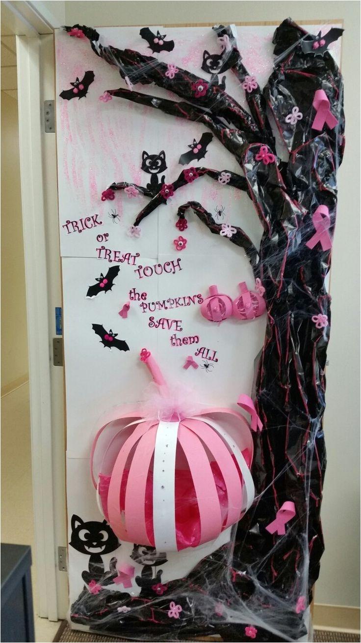 1 prize halloween and breast cancer door decoration borregocmesc