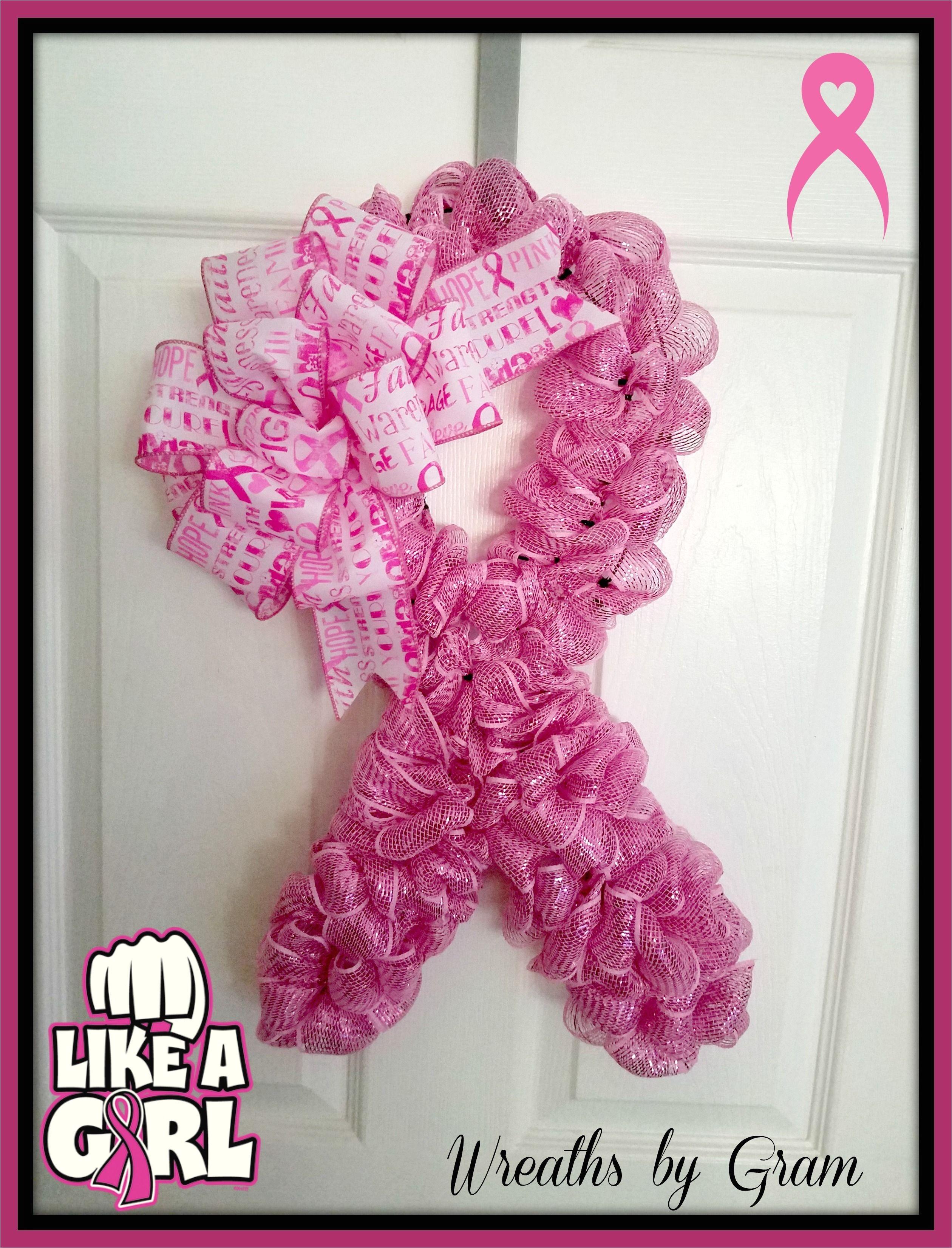 Breast Cancer Awareness Door Decorations Ideas