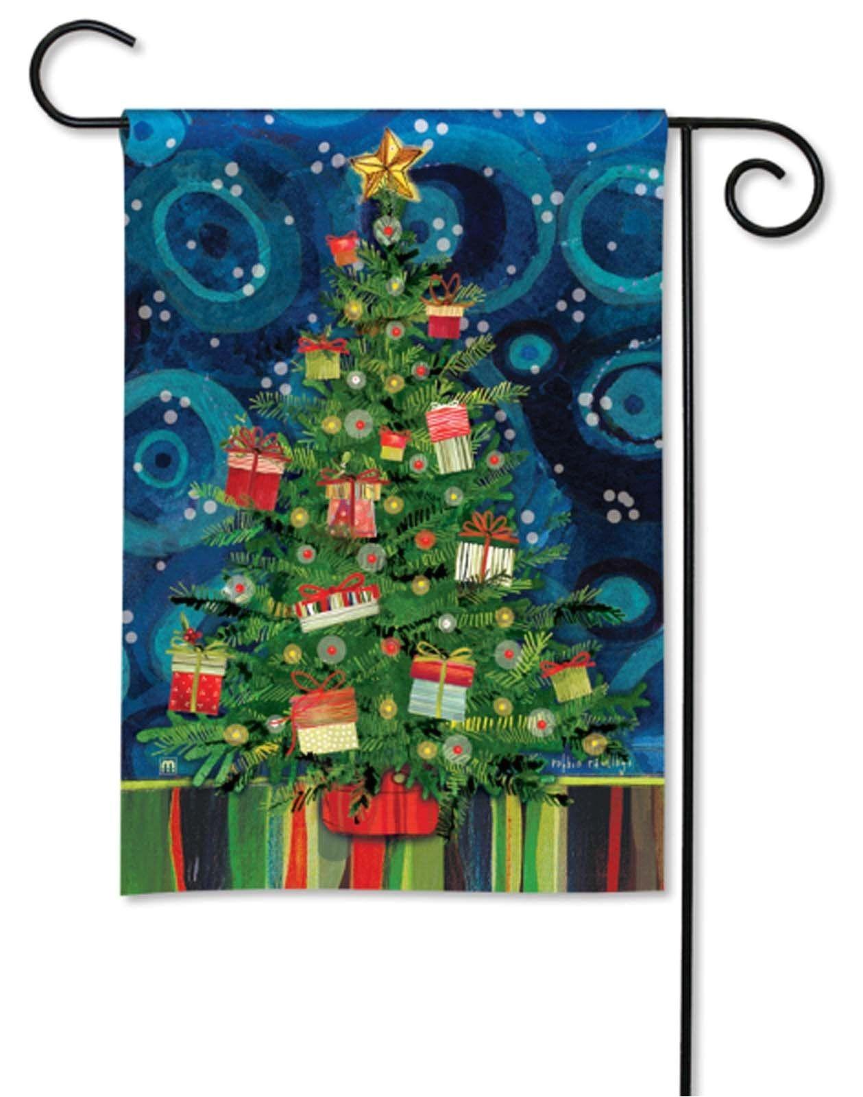 breezeart garden flag mod christmas tree new products pinterest