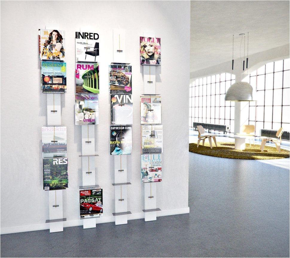 Brochure Rack Wall Mounted Decoration Single Pocket Wall Mount Magazine Holder Business Flyer