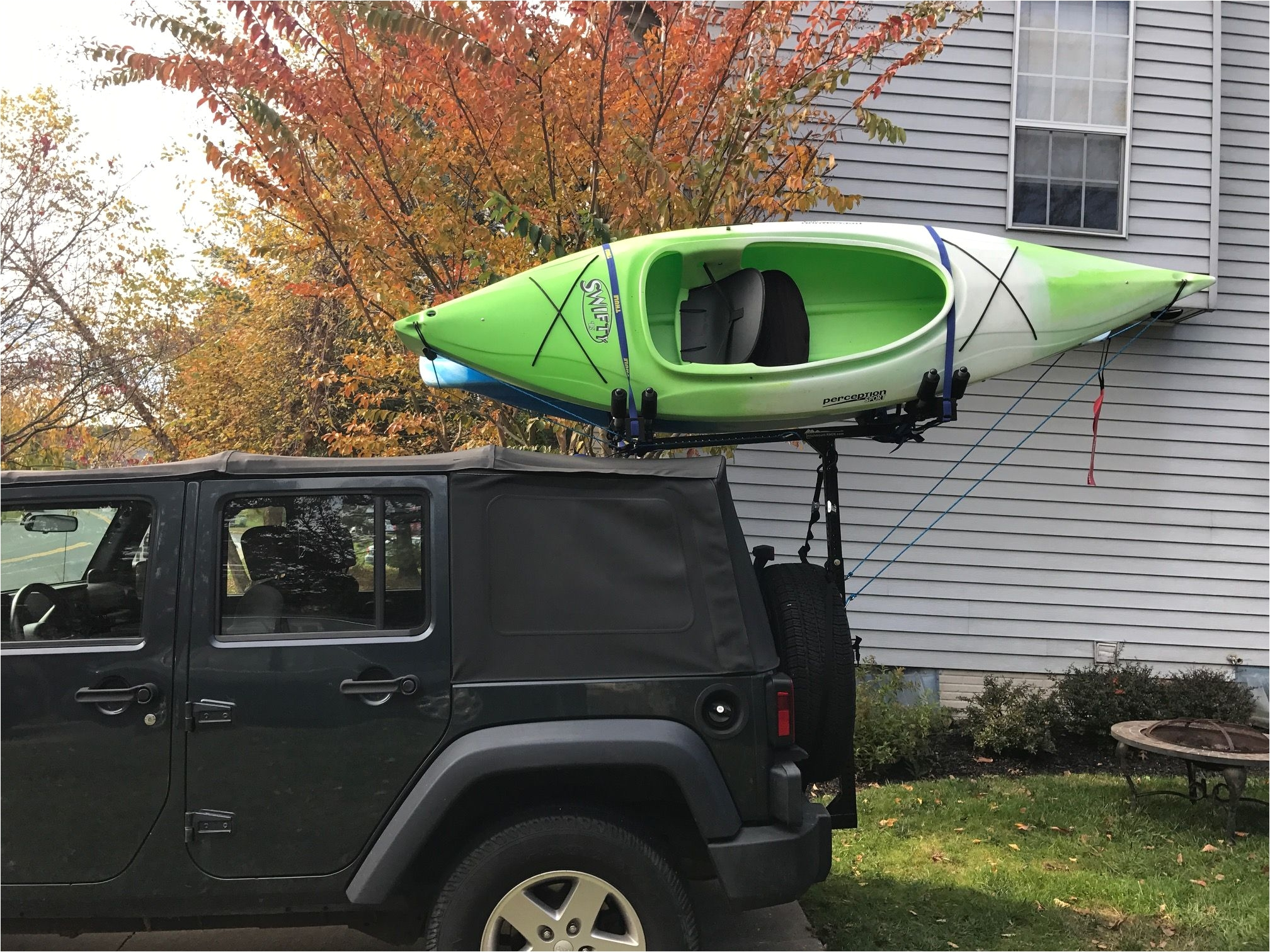 kayak holder for jeep wranglers