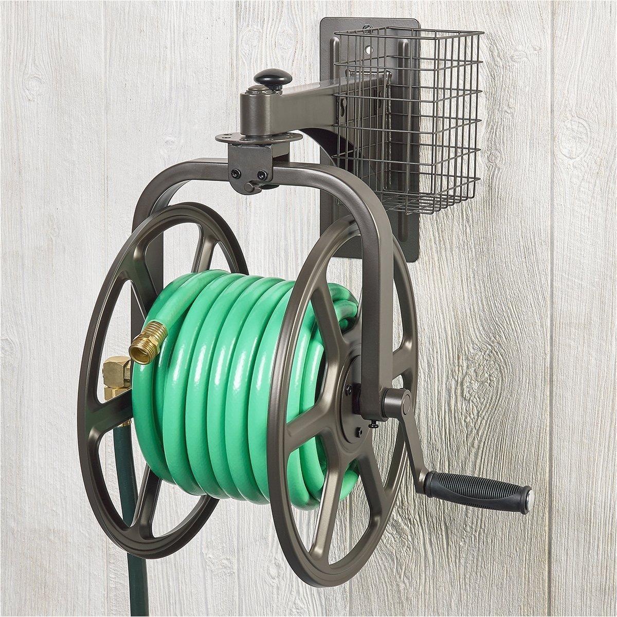hose reel wall rotating