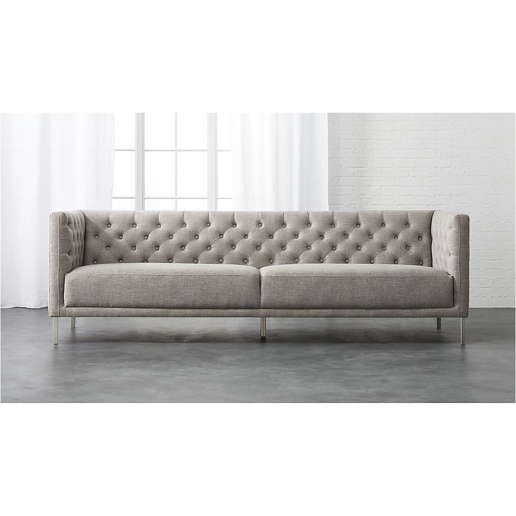 Cb2 Black Leather sofa Savile Grey sofa Vatile Grey Cb2 or Leather New House Ideas