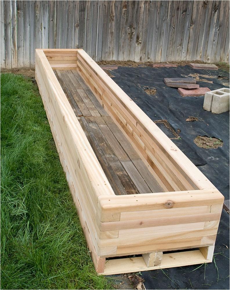 Cedar Boards for Raised Garden Beds Reclaimed Raised Garden Bed Planter 3 Custom by Rushton Llc