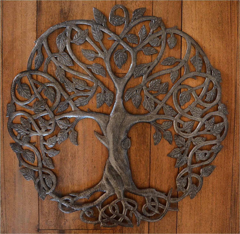amazon com new design celtic inspired tree of life metal wall art