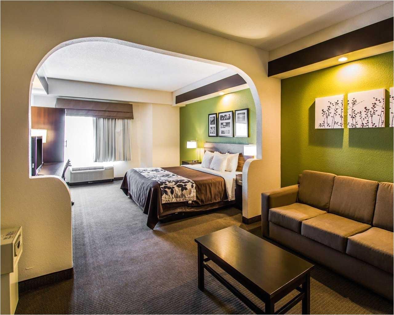 sleep inn orlando airport single bed 4
