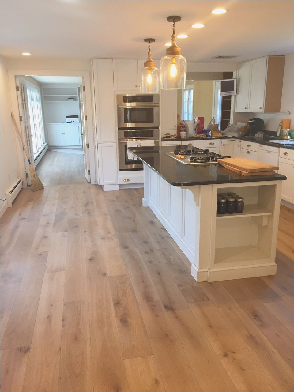the search for the perfect engineered oak wide plank hardwoods for our kitchen love these wire brushed french oak palladio floors