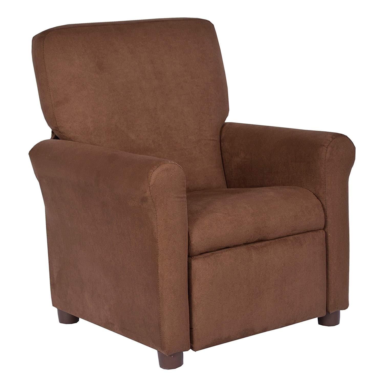 Cheap toddler Recliner Chairs Amazon Com Crew Furniture 649850 Urban Child Recliner Black Vinyl