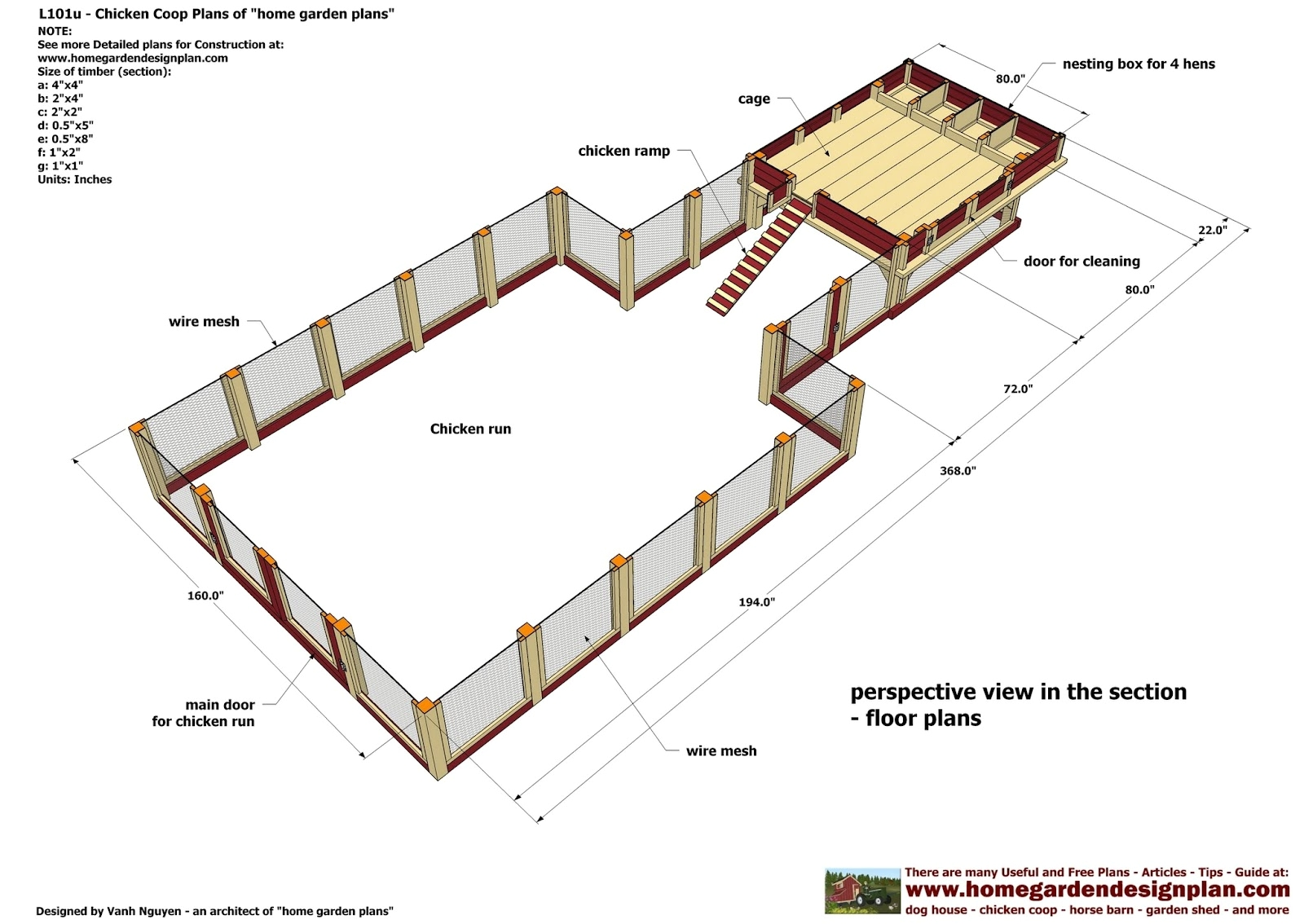 Chicken Coop Plans For 50 Chickens With