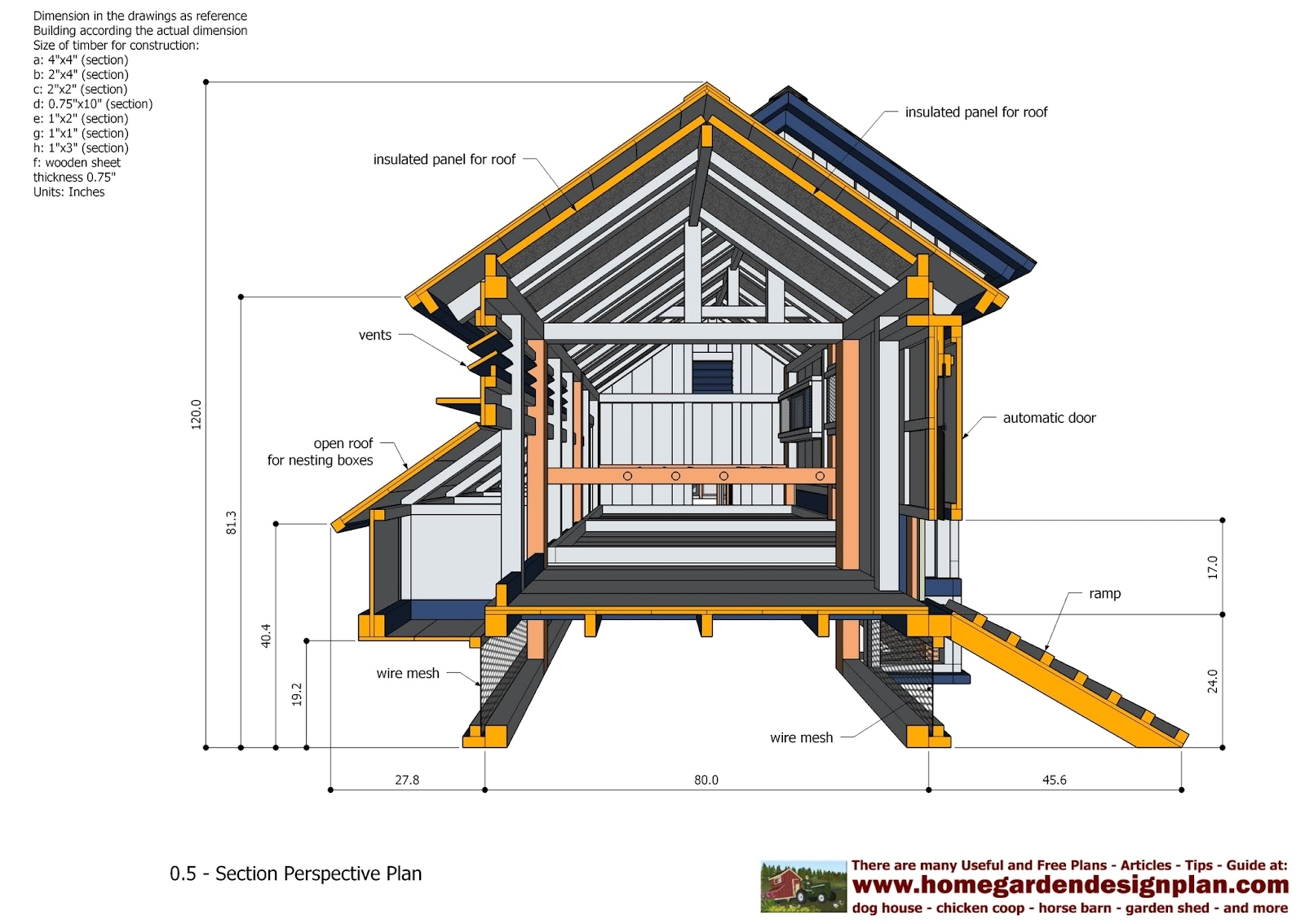 Chicken House Plans For 50 Chickens Pdf 13 Free Coop You