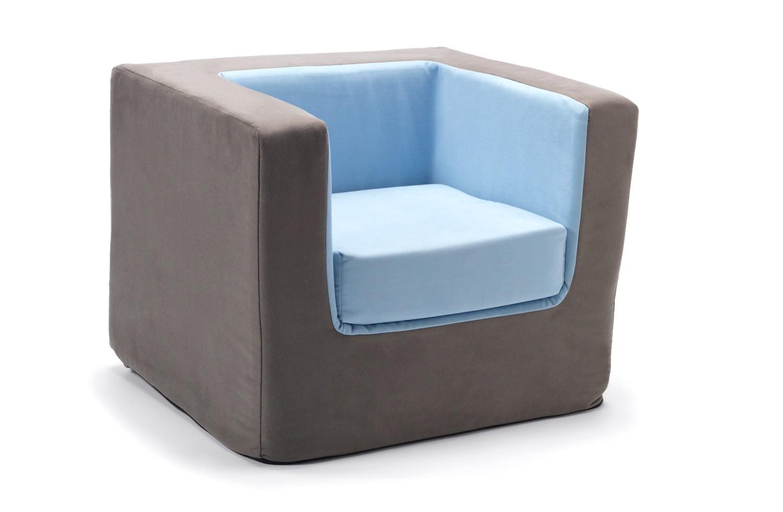 Children S soft Chairs Modern Cubino Kids Chair Loveseat