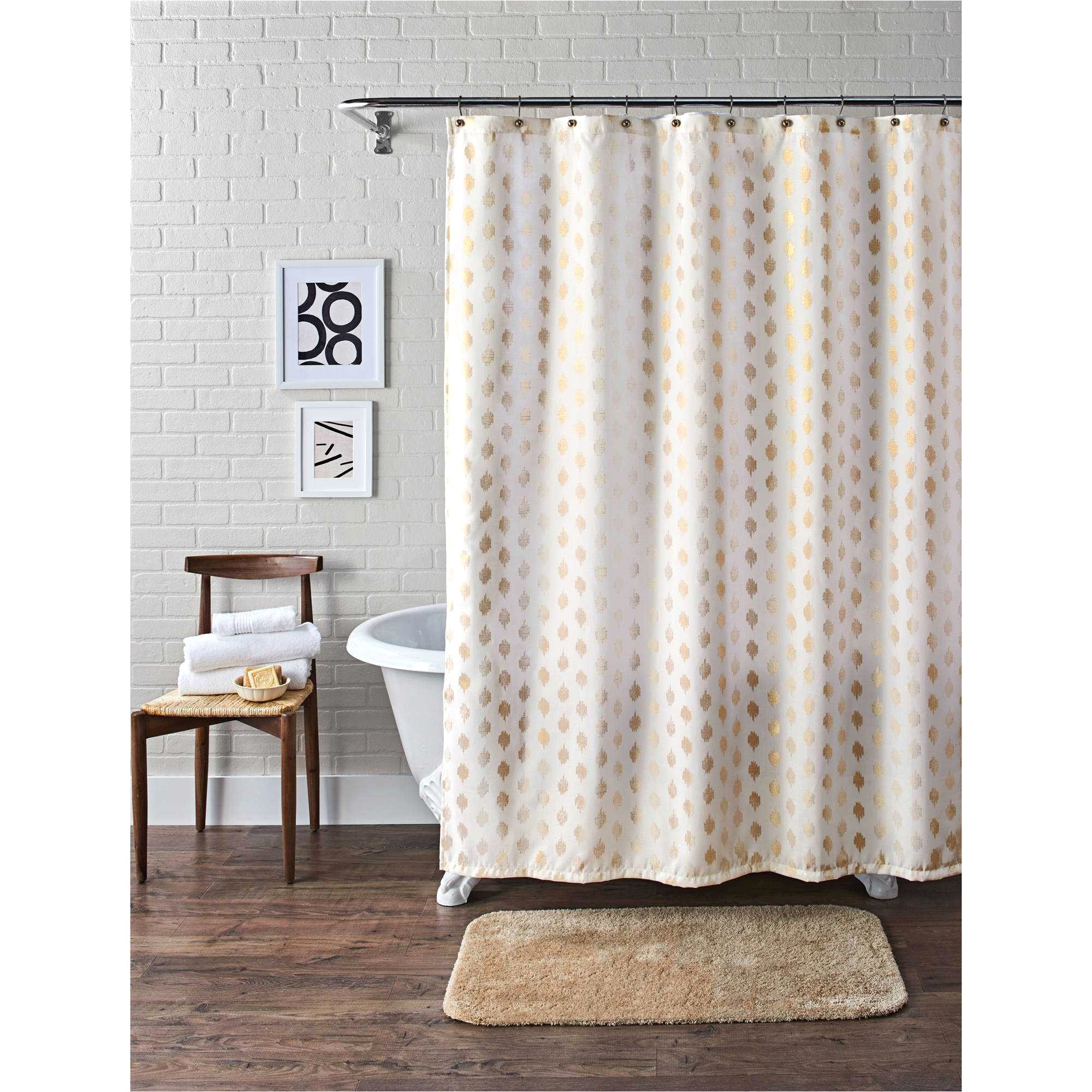 New Christmas Shower Curtains Walmart
