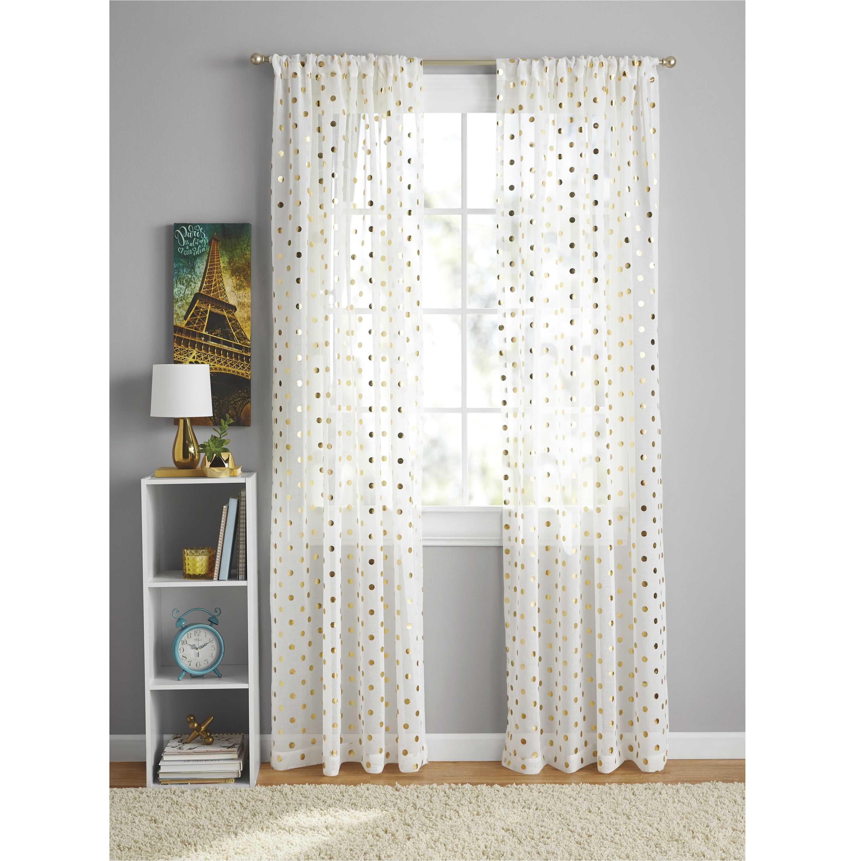 christmas shower curtains walmart unique your zone foil dot curtain panel walmart