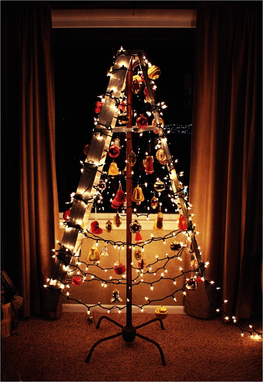 coat rack christmas tree