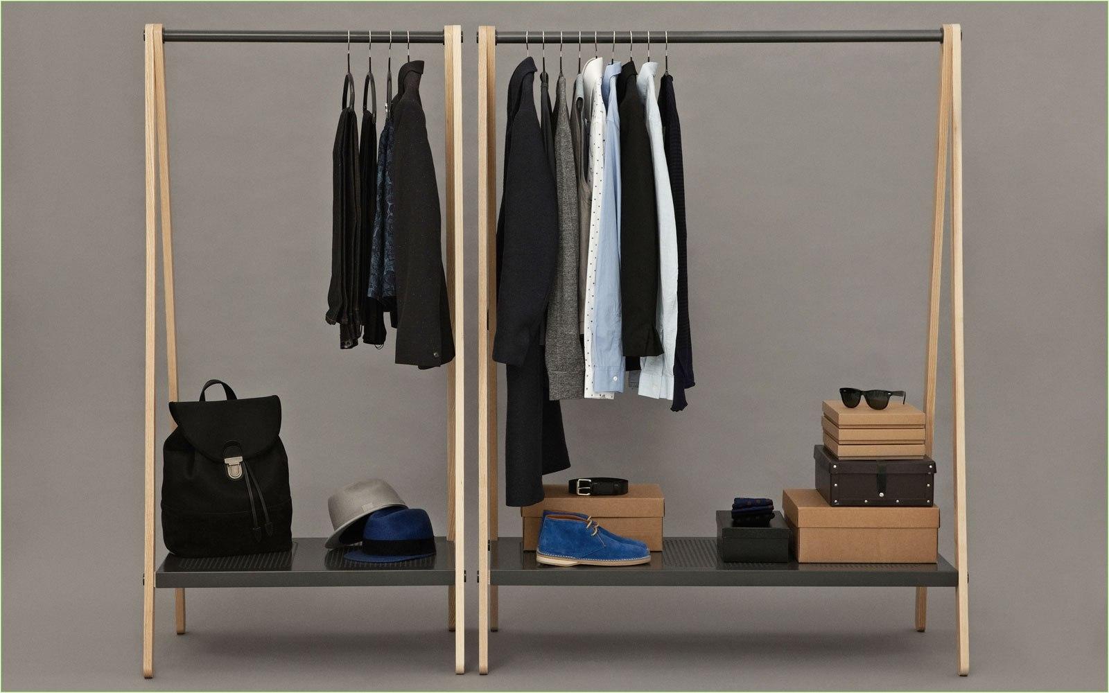 clothes hanging rack heavy dutyy wardrobe 12 s gallery racki 0d