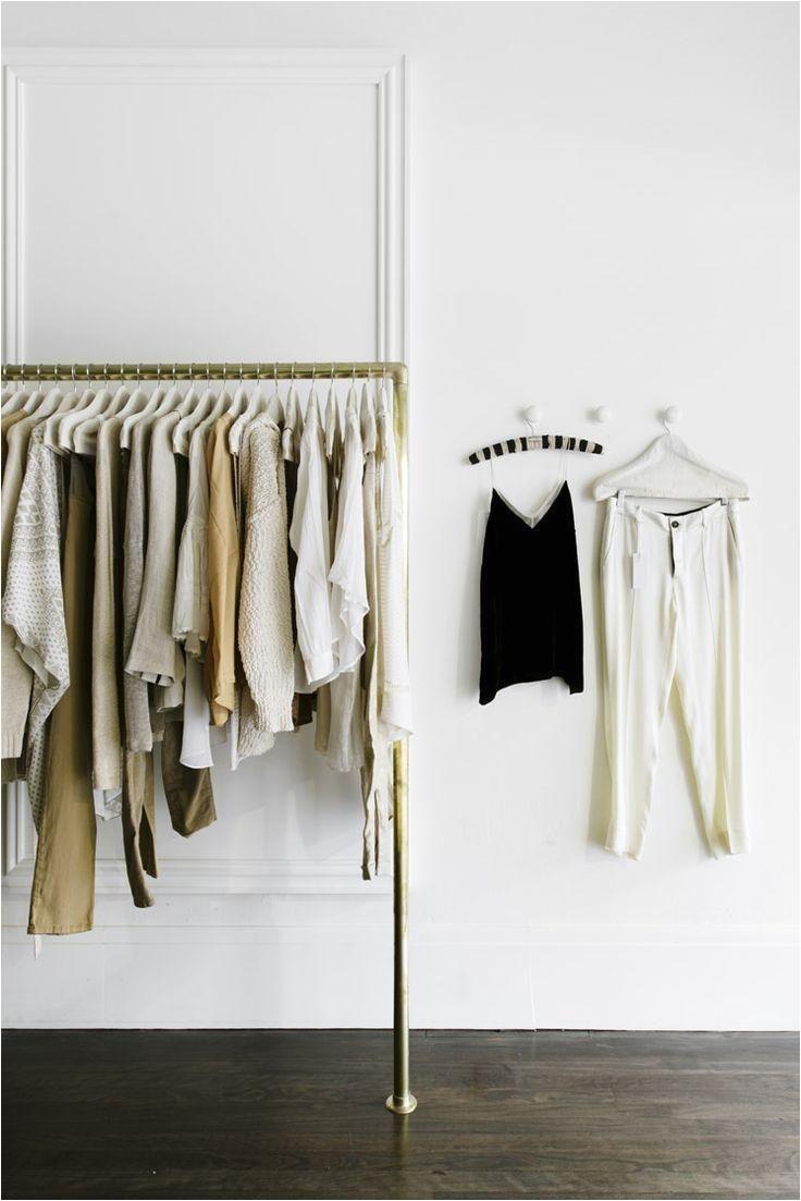 golden racks a wall clothing