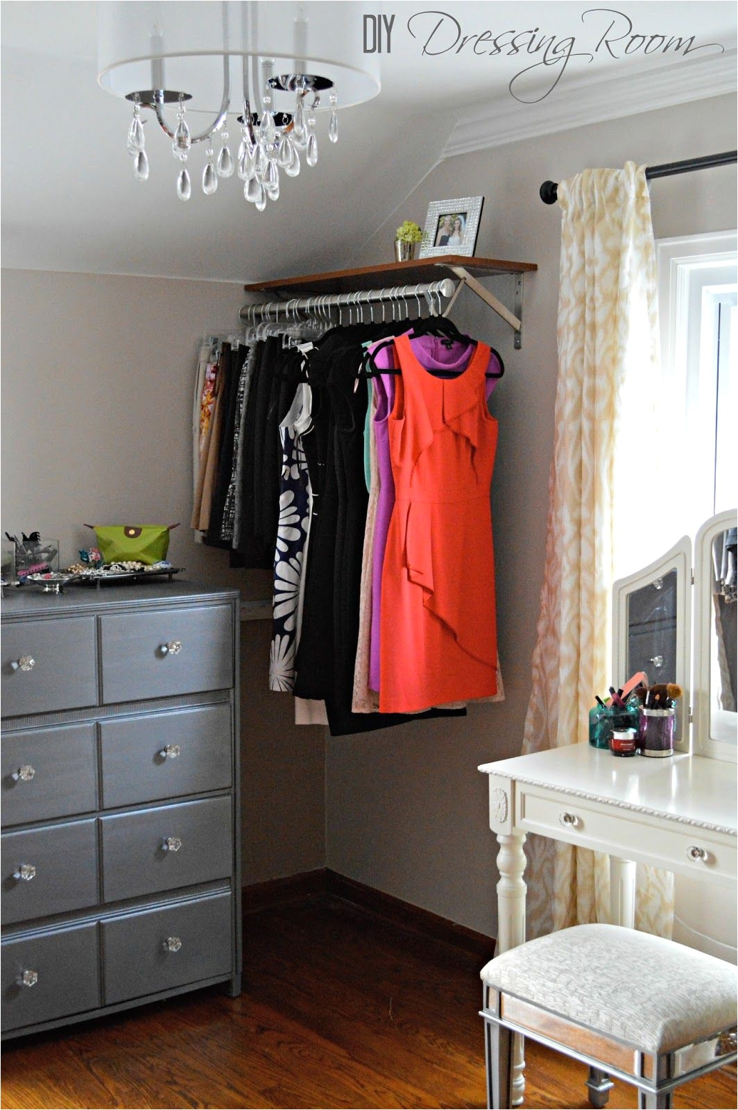 Coat Rack Ideas for Small Spaces 9 Ways to Store Clothes without A Closet Pinterest Inexpensive