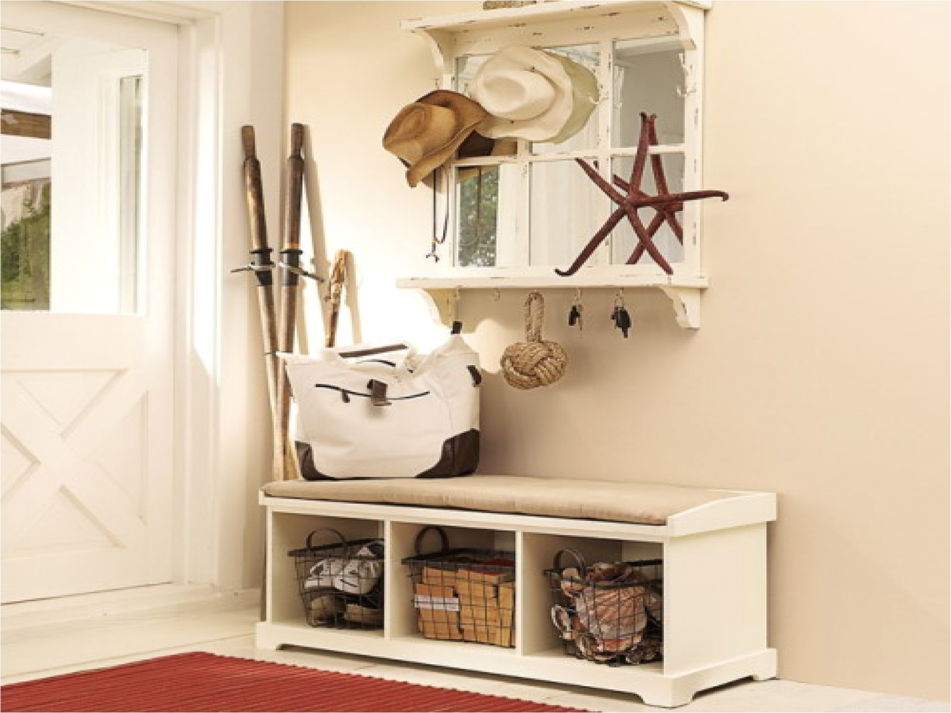 entry bench with storage and coat rack bench rustic wood bench with storagenarrow storage benchmexican