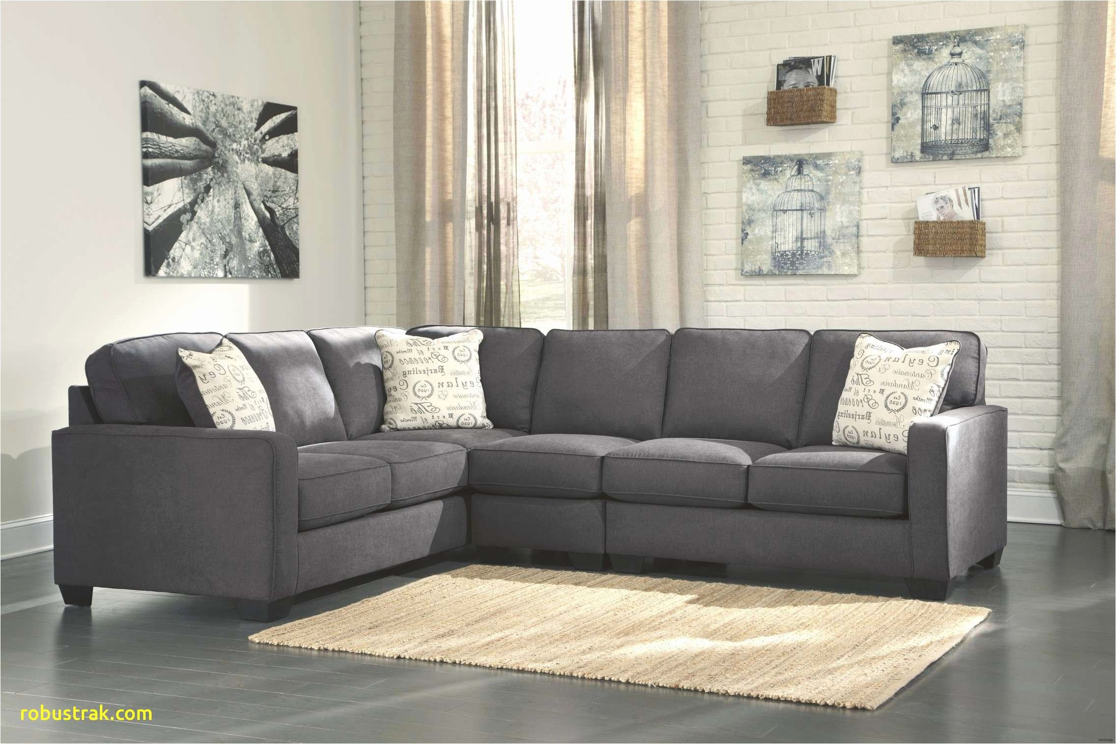 alenya flip charcoal sectional home design 3 piece sofa 0d contemporary leather