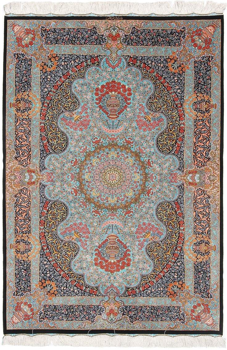 ghom designpersian rug