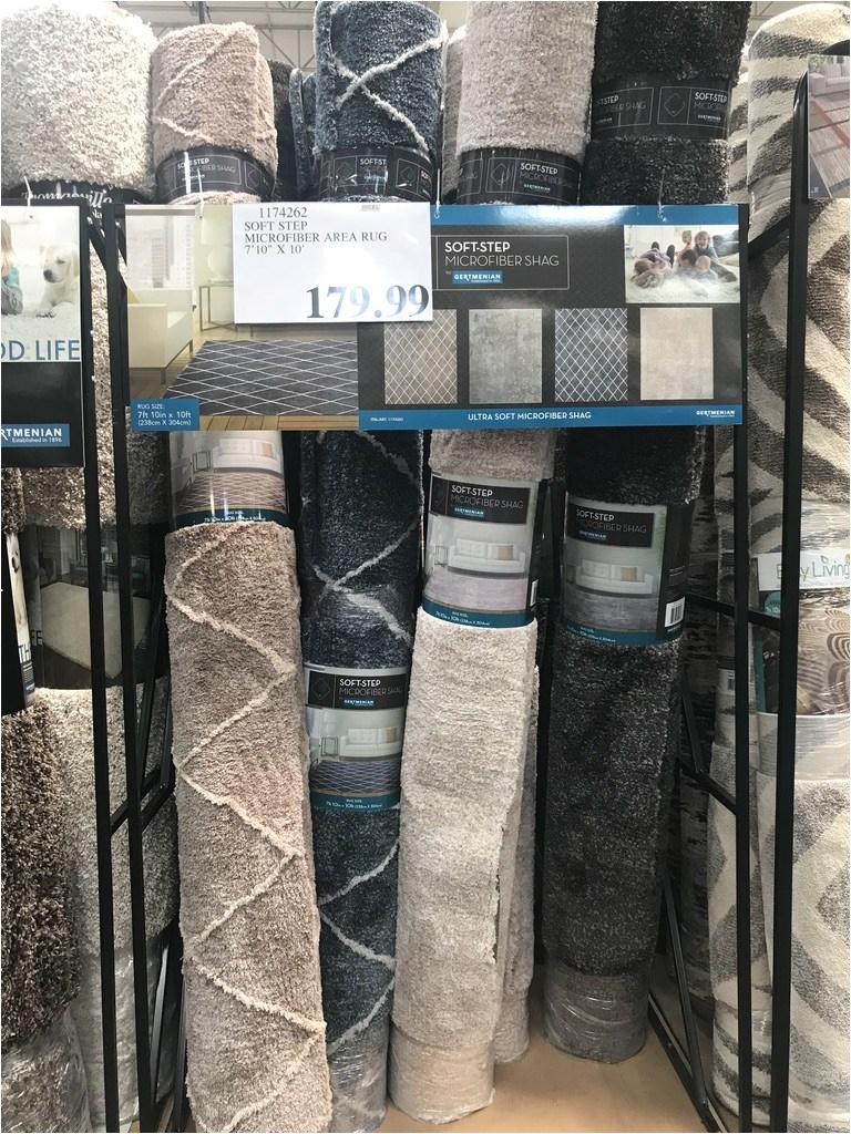 soft step microfiber area rug 7 10 x 10 item 31174262