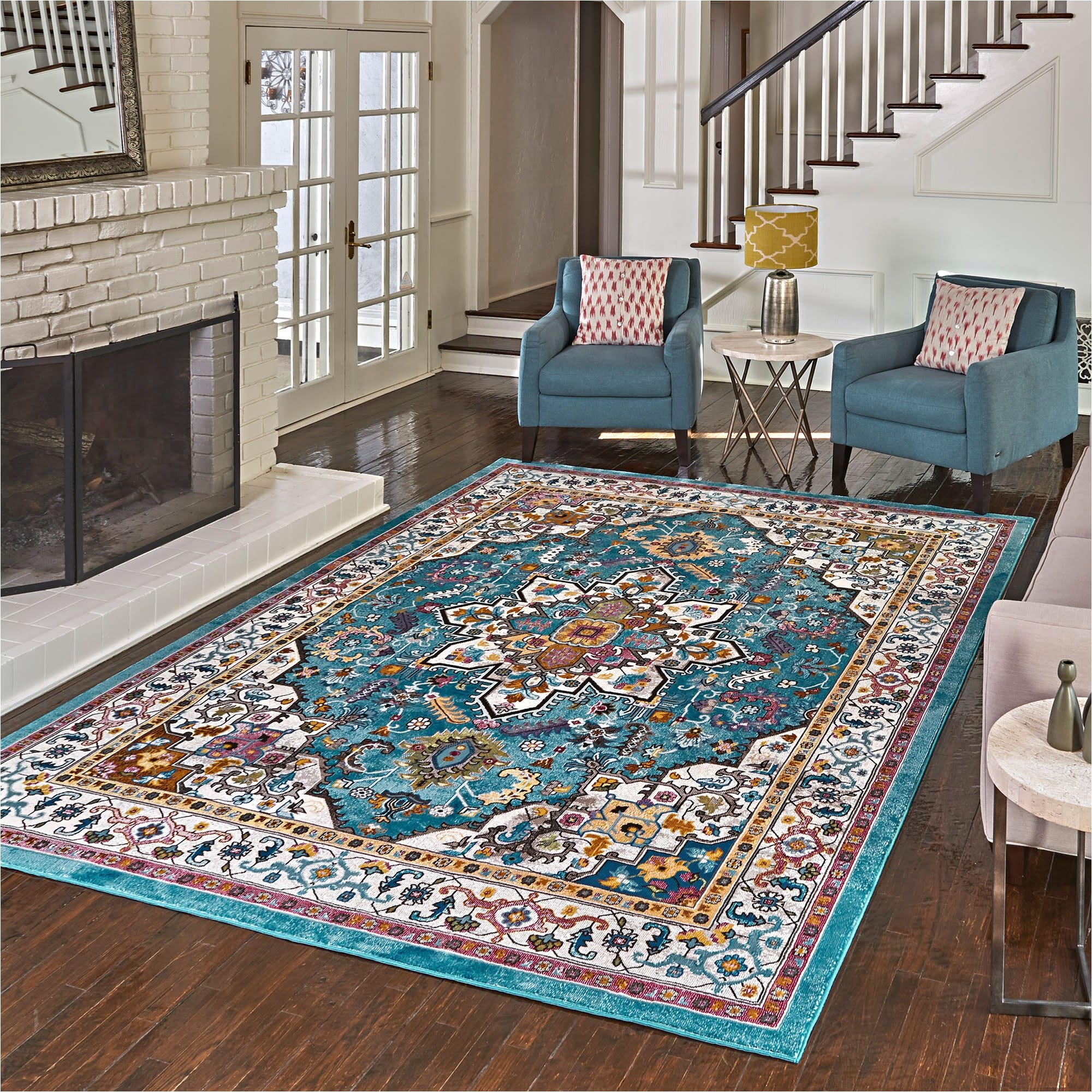 costco offers its members the carmen rug collection area rug in several sizes and styles