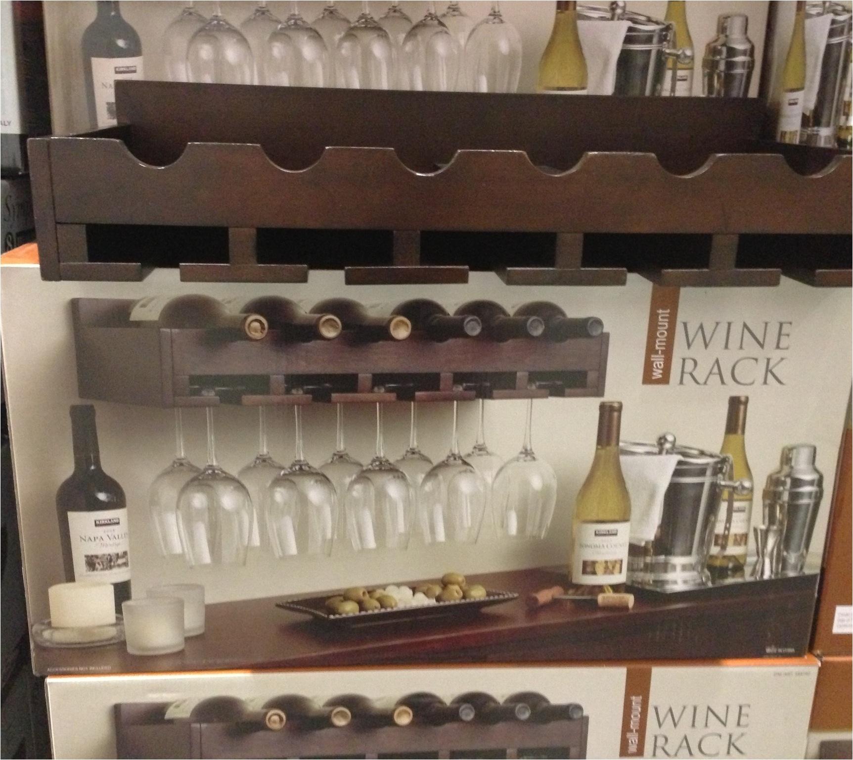 ocean wall mounted wine rack