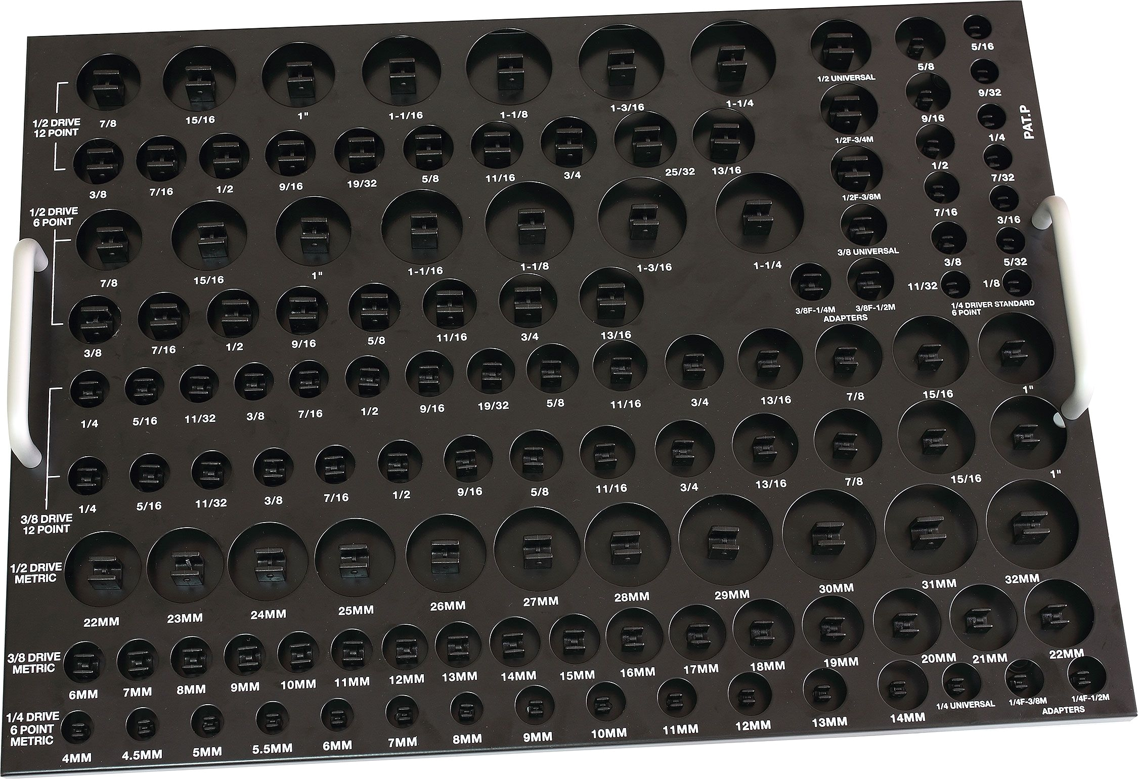 124 socket drawer organizer princess auto