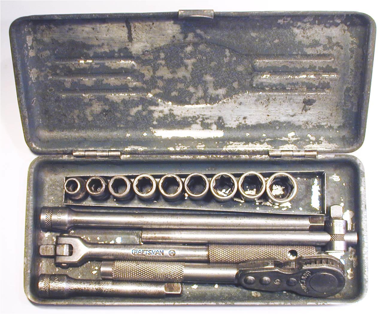 craftsman h circle 1 4 drive 15 piece socket set