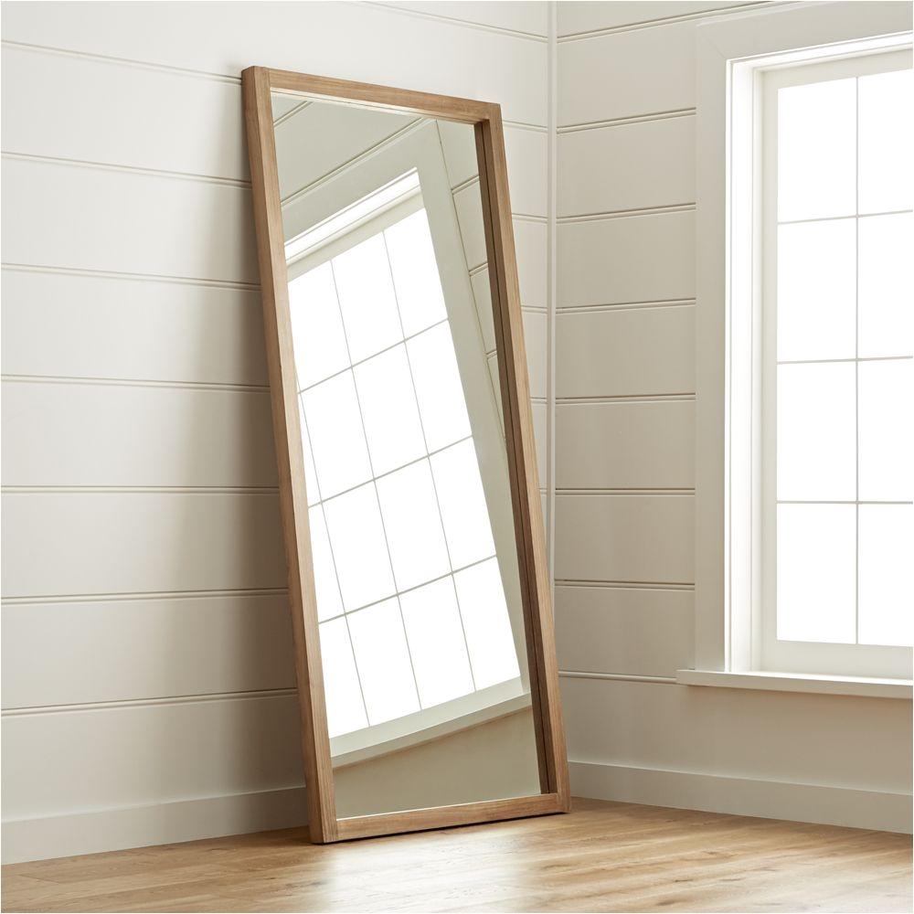 linea ii floor mirror crate and barrel i have in my bedroom and it s
