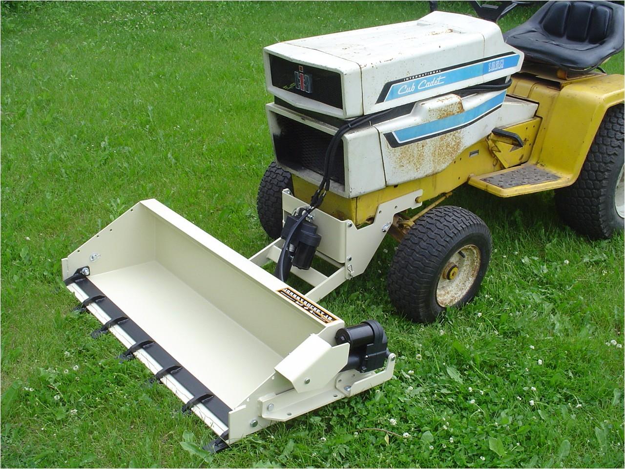 Cub Cadet Garden Tractor attachments Cub Cadet Johnny Bucket Jr Page