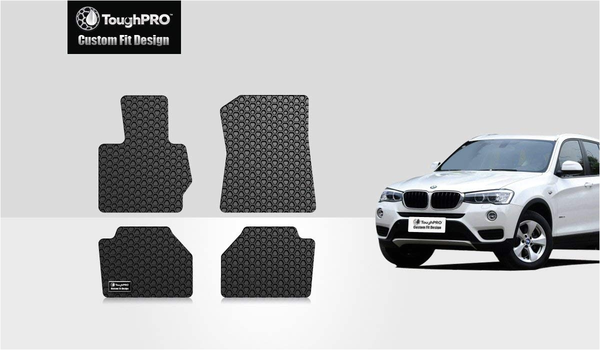 Custom Rv Floor Mats Amazon Com toughpro Bmw X3 Floormats 4pc Set All Weather Heavy