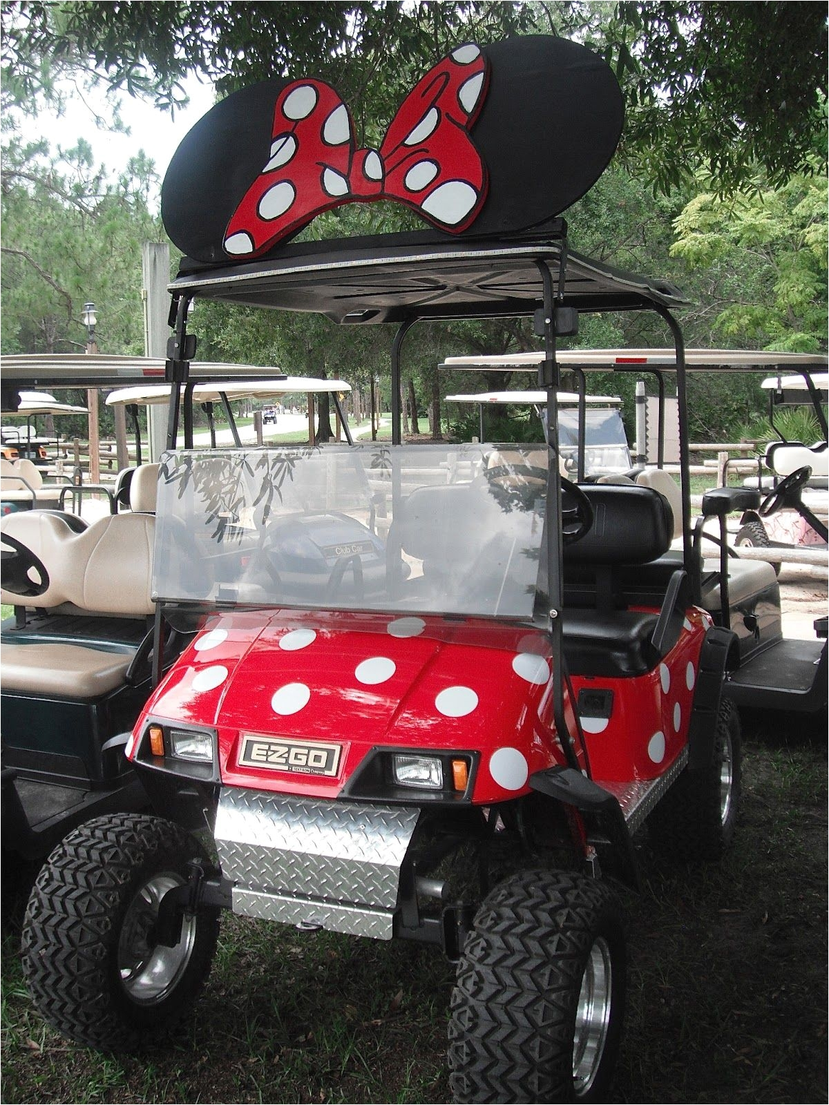 private decorated cart fort wilderness campground so cute and clever i want one