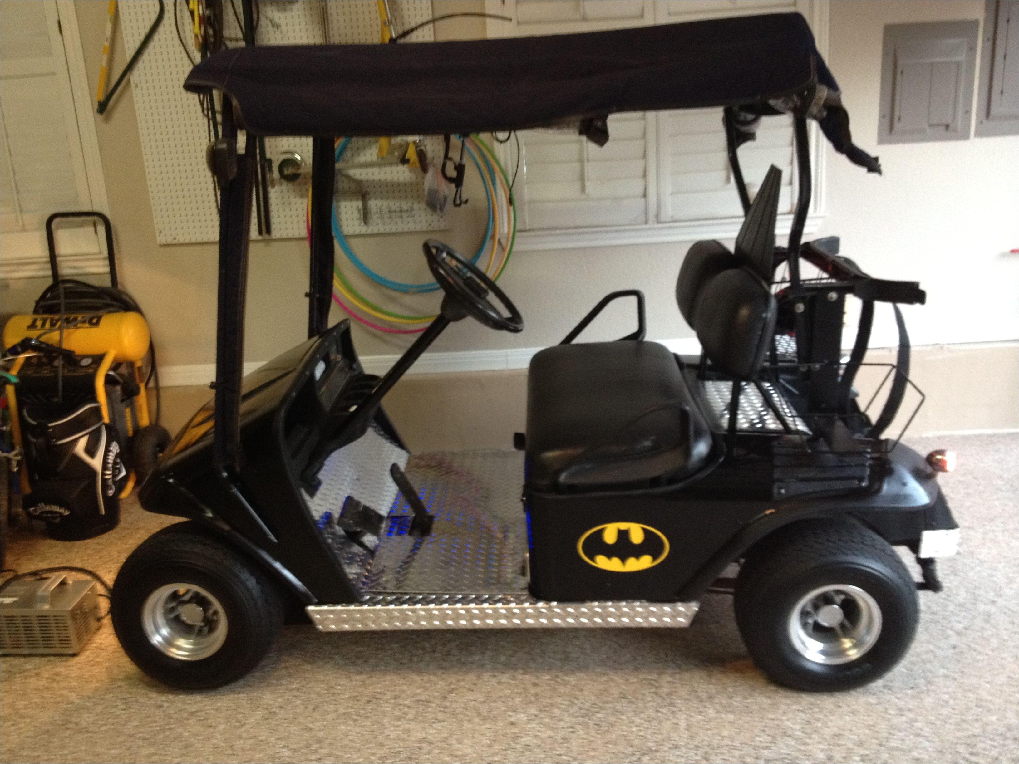 my batman golf cart