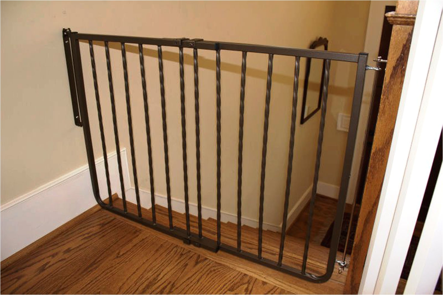 Decorative Baby Gates For Stairs Wrought Iron Decor Gate Baby Gates Safety  Gate Cardinal Gates