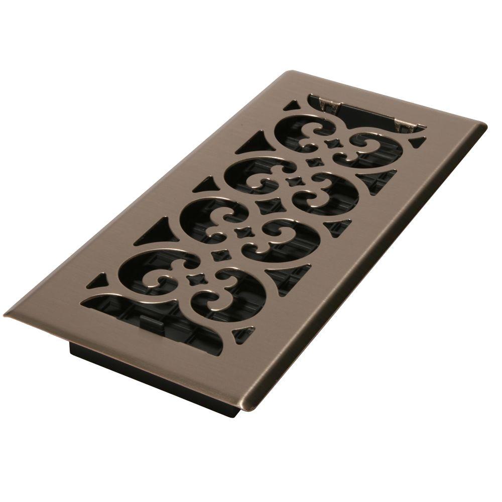 Decorative Ceiling Vent Registers 1 Grilles Hvac Parts Accessories The Home Depot