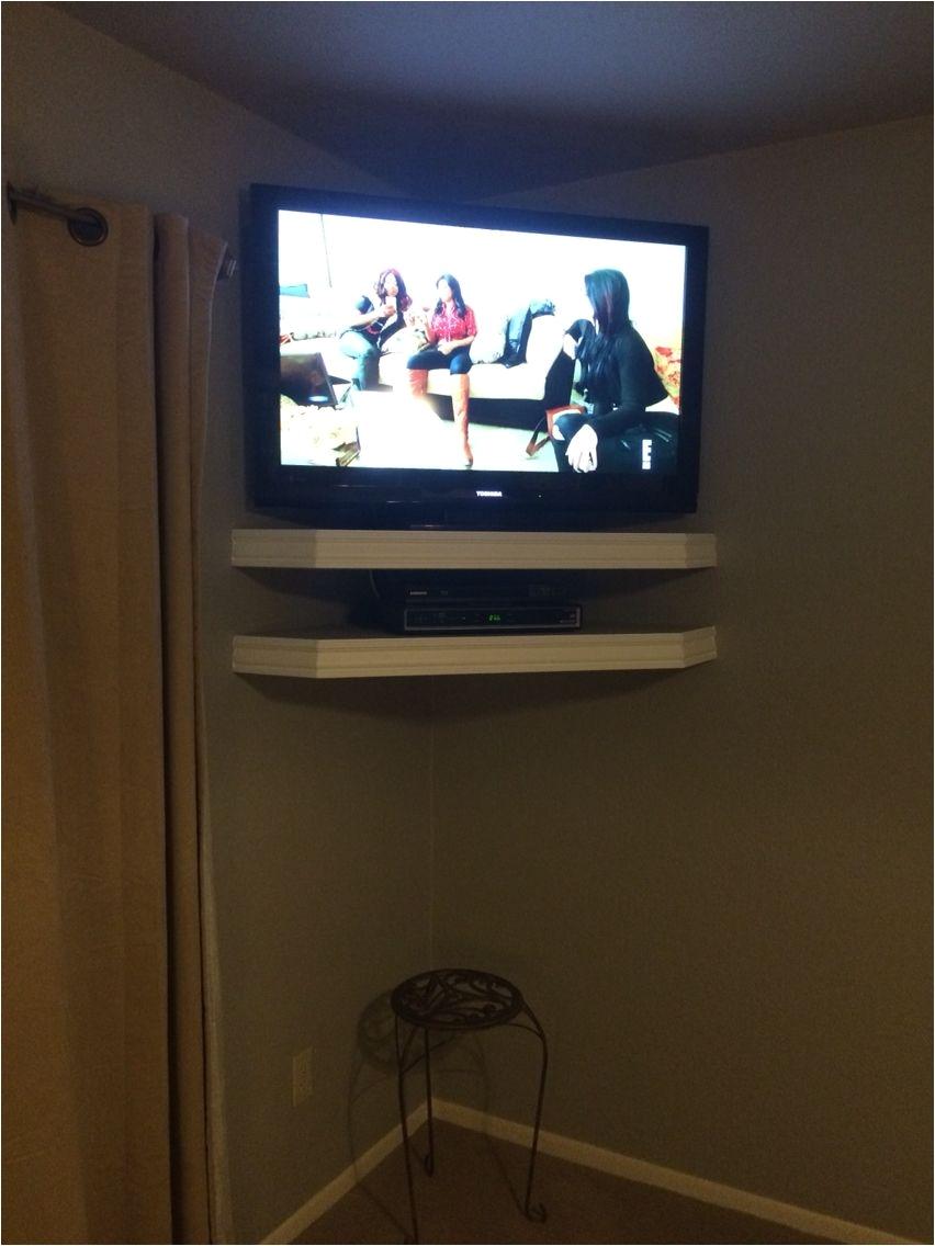 Flat Screen Tv Wire Hider Shelf - WIRE Center •