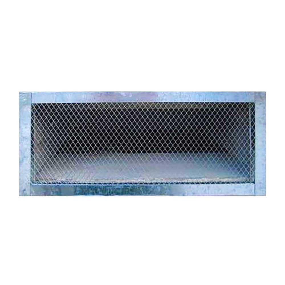 Decorative Foundation Vents Construction Metals 14 In X 6 In Galvanized Steel Reversible