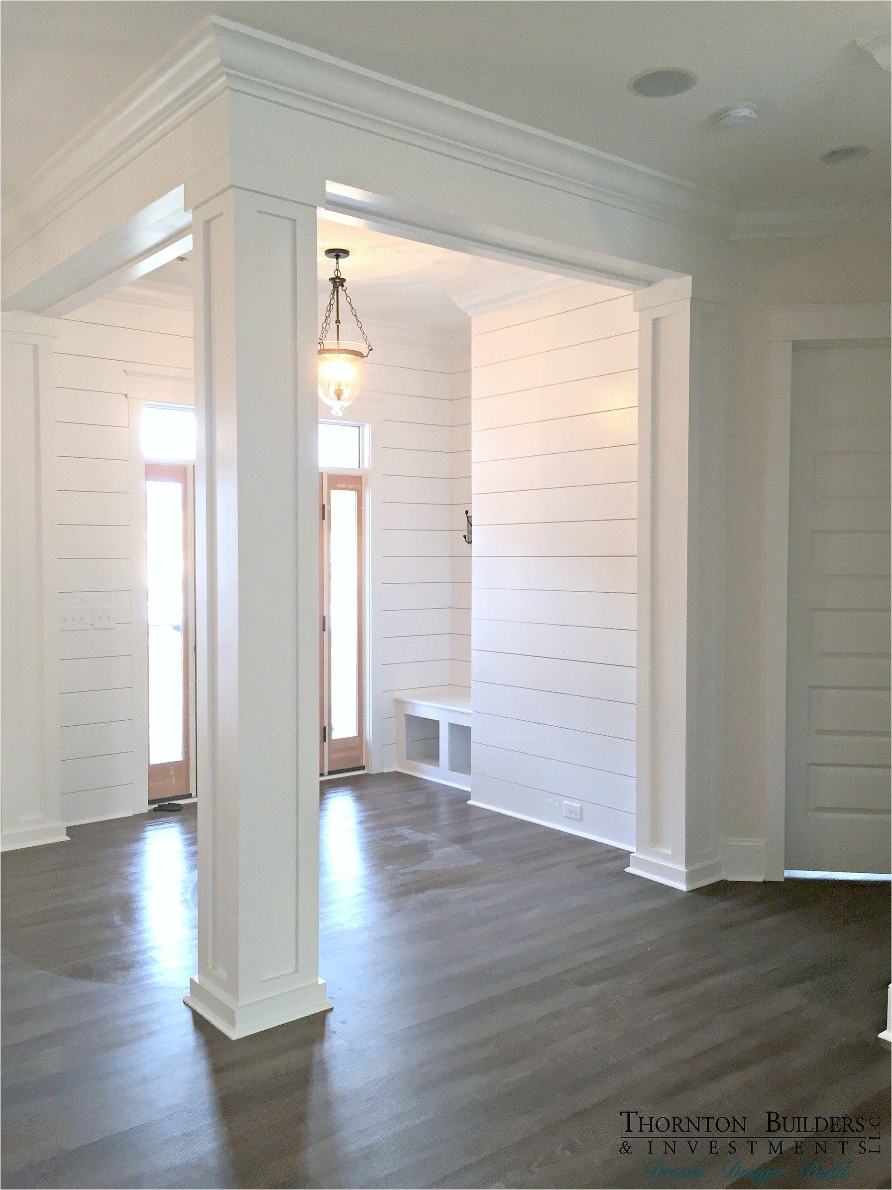 Decorative Interior Column Wraps Thornton Builders the Modern Farmhouse Beautiful Home