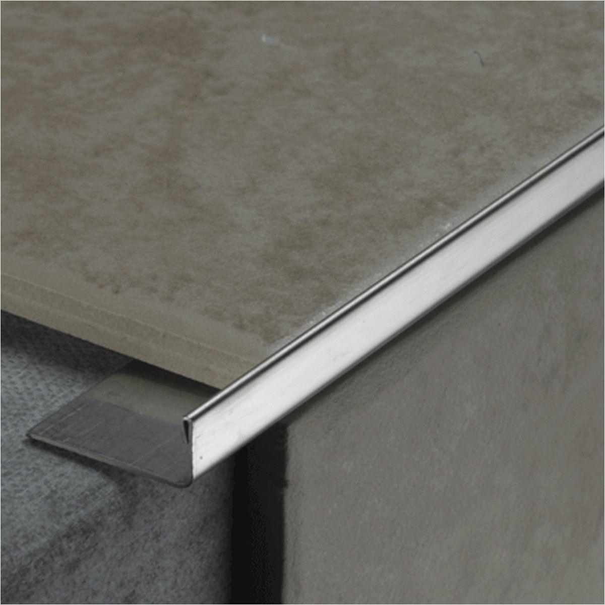 8mm l shape trim silver gloss sku 903030 tile choice