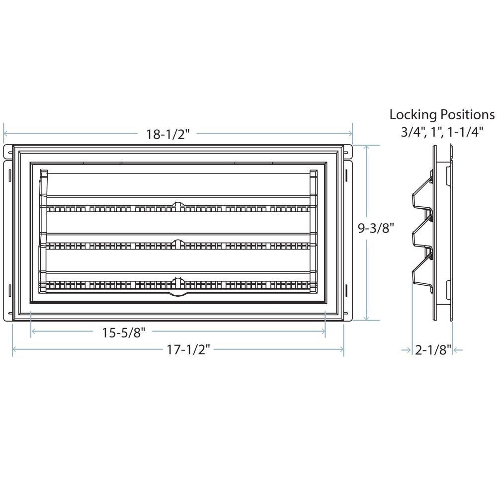foundation vent molded back foundation vent diagram