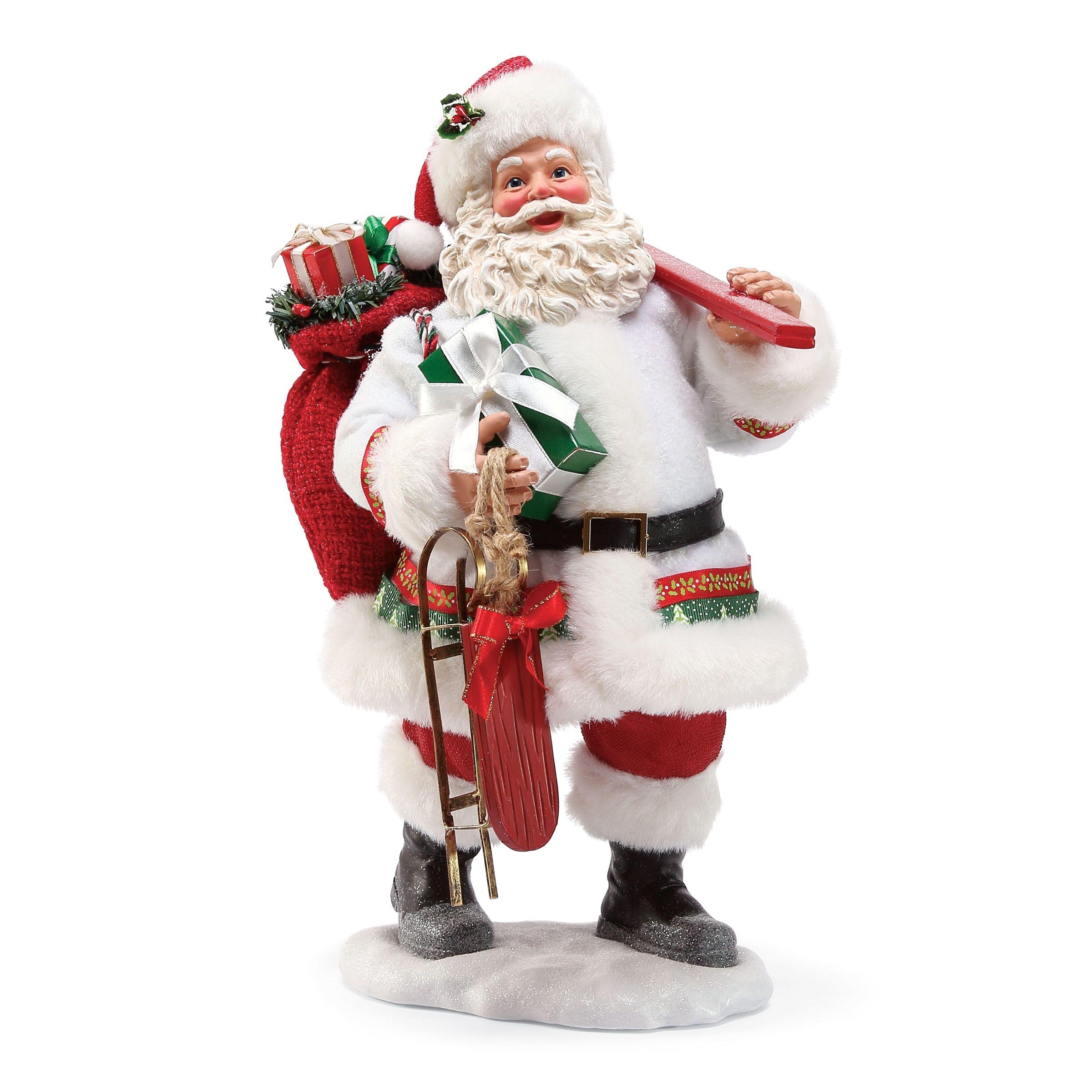 Decorative Santas Snow toys Santa Possible Dreams Pinterest Snow toys