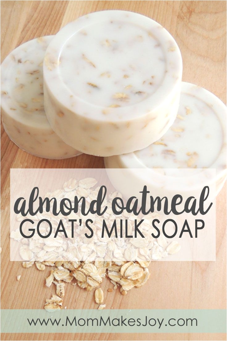 making your own almond oatmeal goat s milk soap is easy with melt and pour soap base learn how to make your own soap bars with this quick tutorial soap