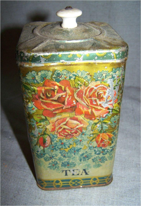 Decorative Tea Tins 39 Best Tea Tins Images On Pinterest Vintage Tins Tea Tins and Boxes