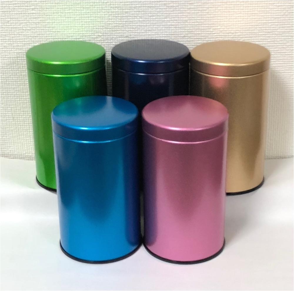 wholesale round tea tin with beautiful washi jpg